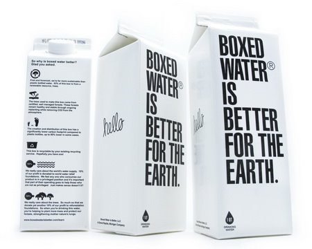 boxed water best in packaging. Black Bedroom Furniture Sets. Home Design Ideas