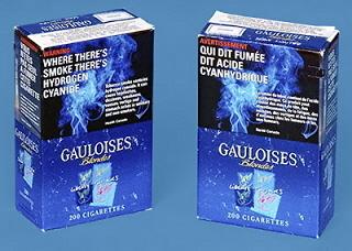 Gauloises Tobacco Overwrap