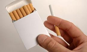 90926-Plain cigarettes pack