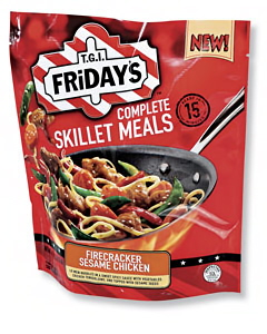 90458-Heinz Friday's frozen skillet meals