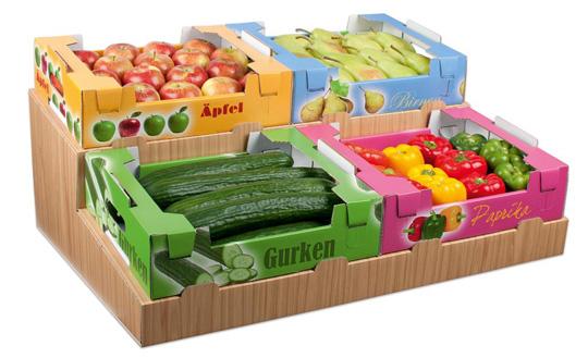 la caja de fruta fruta fresca hecha de cartn ondulado usa por primera vez los espacios huecos entre el corrugado para aplicar materiales activos - Cajas De Frutas