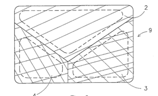Drawing from US Patent 20040084445