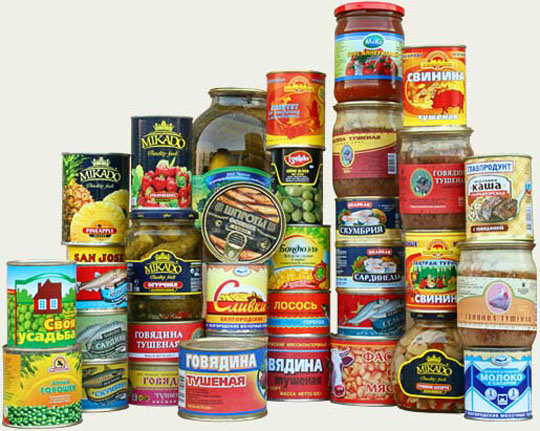 Least Unhealthy Canned Food