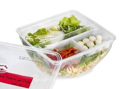 Innovative EasyLid concept Under the brand name EasyLid SealPac developed a seal & lid in one solution. Hermetic sealing and lidding of the tray takes place in one single step. The trick: upon opening the pack a re-closable lid is automatically created, which allows for consumer-friendly storage of the packaged product.