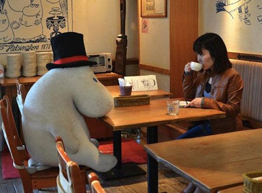 Photo courtesy Japanese restaurant Moomin Café, Tokyo