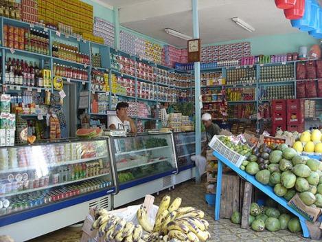 Mercadinha Santa Teresa, Rio de Janeiro, a typical Brazilian neighbourhood supermarket
