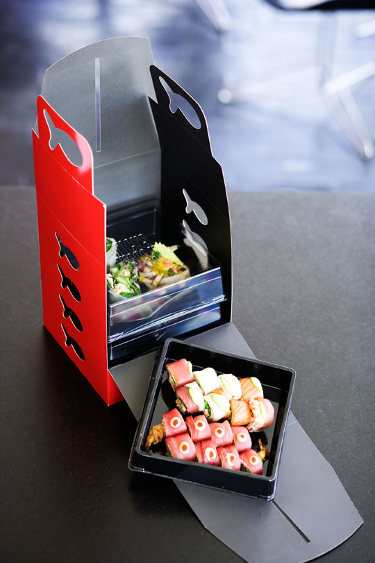 An example of Danish Sticks 'n Sushi