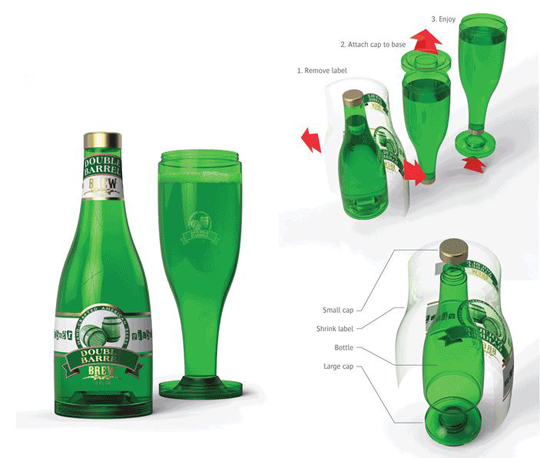 Upside-Down Beverage Containers | Best In Packaging