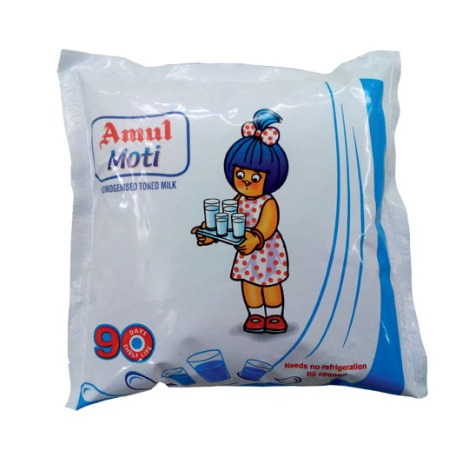 Gujarat Cooperative Milk Marketing Federation (GCMMF), Gujarat, India, made a nationwide launch of its branded Amul Moti UHT milk with 90-day non-refrigerated shelf life. The Elecster aseptic filling system can accommodate 100-, 200-, 500-, and 1000-mL pouch sizes. The barrier pouch rollstock structure is an EVOH-based 5-layer film (LLDPE/LDPE) made with films supplied by Dow Chemical and Exxon Mobil. The structure also incorporates a DuPont Bynel 4109 tie layer resin, and the EVOH main barrier polymer is from Kuraray-Japan.