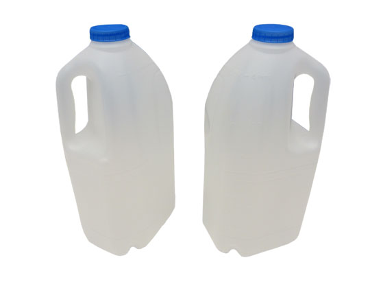 The United Kingdom's Nampak Plastics Europe Ltd. developed a line of Inifini lightweight milk bottles. The high density polyethylene milk bottles are the world's lightest 4-pint (2.27 litres) 32-gram bottle, containing up to 20% less material and up to 30% recycled HDPE, the company says.
