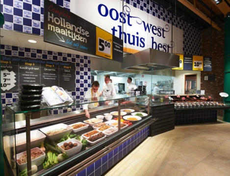 Jumbo, Breda – Netherlands The concept aims to connect the customer with the enjoyment of food by giving him the confidence to vary the everyday dishes.