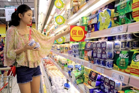 China's growing hunger for enriched yoghurt hits global supplies (Source: Bloomberg)