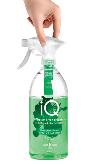 Planet People's iQ pod line of household cleaner