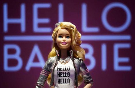 Mattel's Hello Barbie - photo: Adweek
